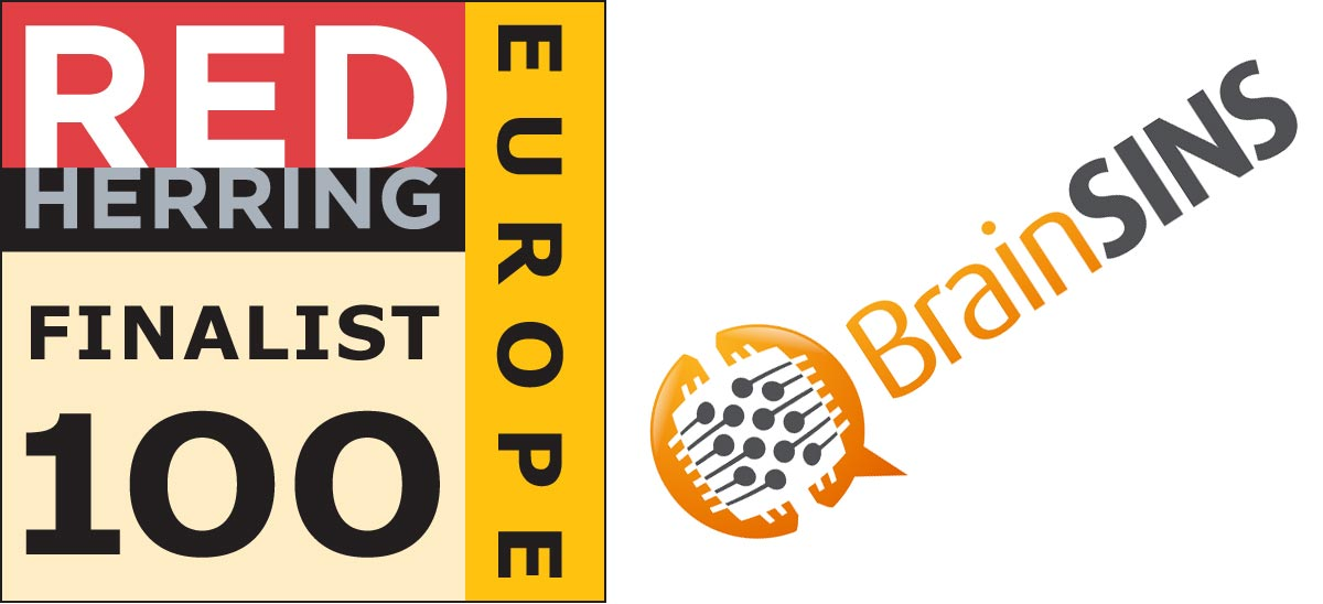 BrainSINS is a Finalist for the 2015 Red Herring Top 100 Europe Award