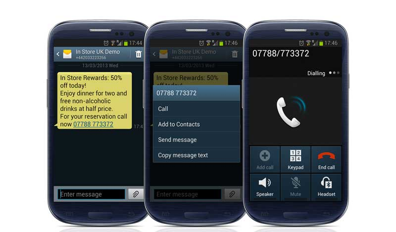 SMS Call to Action