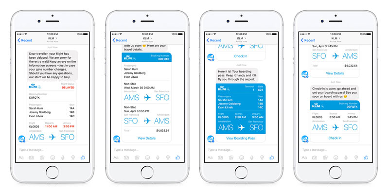 A One-touch Game: Chat Bots in Online Retail