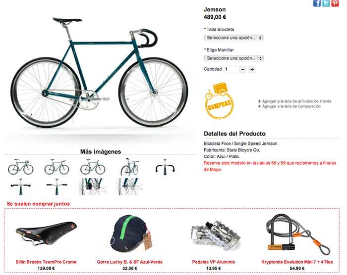 Estrategia de cross-selling en Santa Fixie