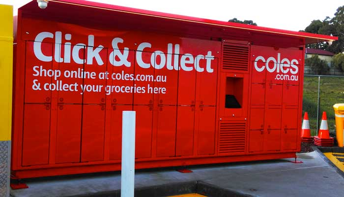 Lockers para click & collect